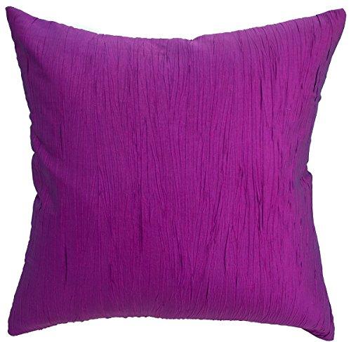 Avarada Solid Crepe Throw Pillow Cover Decorative Sofa