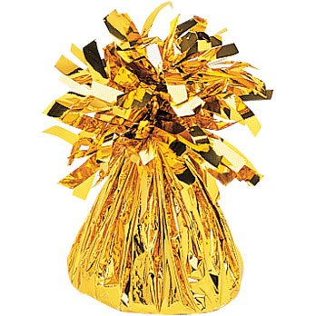 Gold Foil Balloon Weight 6 Oz (1 ct)
