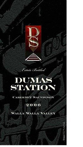 2006 Dumas Station Estate Cabernet Sauvignon Walla Walla Valley 750 mL