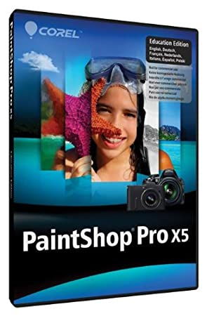 PaintShop Pro X5 Education Edition Version 15