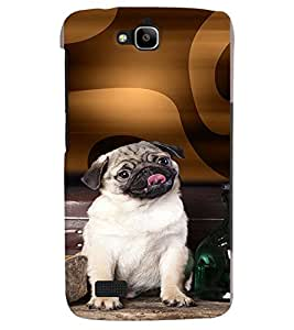 PRINTVISA Dog Pug Case Cover for Huawei Honor Holly