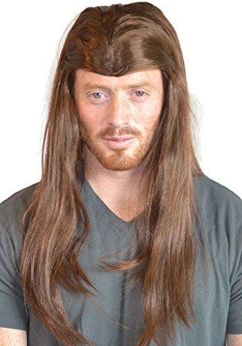 My Costume Wigs Men's Thor Warrior Avengers Superhero Wig (Brown) One Size fits all