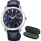 【時計ケース1本用セット】[オリエント]ORIENT 腕時計 ORIENTSTAR オリエントスター レトログラード 自動巻 (手巻き付き) WZ0081DE メンズ