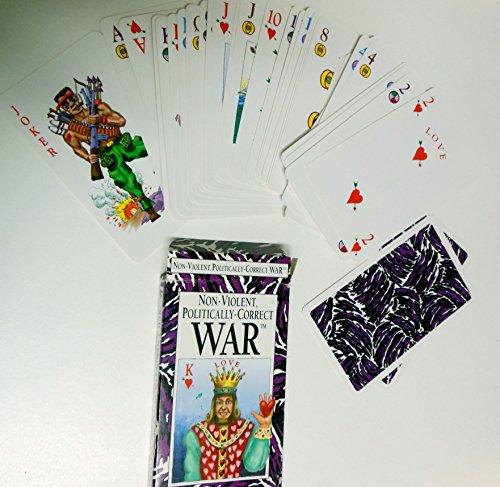 Non-Violent, Politically-Correct War Card Game - 1