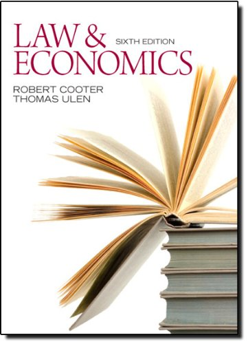Law and Economics (Central Issues In Jurisprudence compare prices)