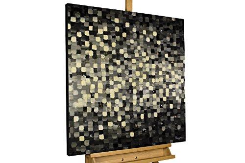 kunstloft acryl gem lde 39 pixel art 39 80x80cm original. Black Bedroom Furniture Sets. Home Design Ideas