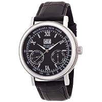 [ブルッキアーナ]BROOKIANA 腕時計 自動巻き ビッグデイト・ダト配列マルチカレンダー BA1665-BK メンズ
