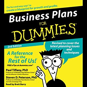 Business Plans For Dummies Second Edition Audiobook