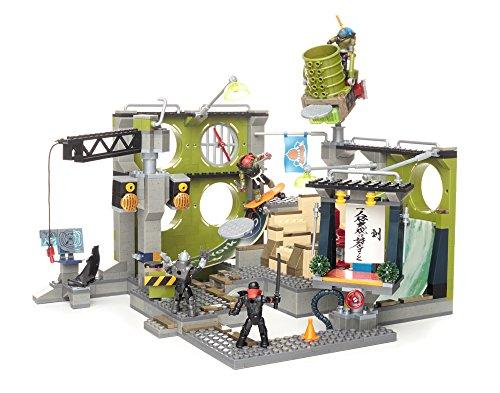 Crane Tmnt Toys : Mega bloks teenage mutant ninja turtles sewer hideout