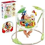 Jumperoo Rainforest Baby Bouncer Activity Jumper Baby Walker