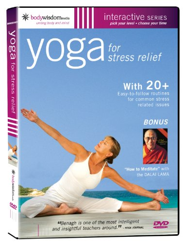 Yoga for Stress Relief [Over 20 Routines + Dalai Lama] [DVD] [2006] [NTSC]