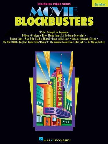 Movie Blockbusters (Beginning Piano Solos)