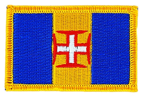 Madeira Portugal National Flag Iron On Patch Heat Embroidered Seal Applique (Ebay Portugal compare prices)