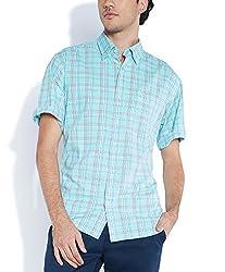 ColorPlus Light Green Shirts ( 8907150495385_CMSB25201-N2_00M_Light Green)