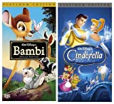 Bambi (Platinum Edition) + Cinderella (Platinum Edition) VHS