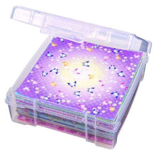 ArtBin Essentials Storage Box-6 by 6-Inch Clear Storage Container, 6953AB