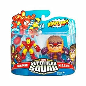 Amazon.com: Marvel Super Hero Squad Iron Man vs M.O.D.O.K by Hasbro