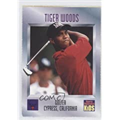 Buy Tiger Woods Golf (Trading Card) 1996 Sports Illustrated for Kids II #536 by Sports Illustrated for Kids II