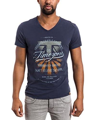 Timezone T-Shirt Manica Corta [Blu Indaco]