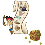 RoomMates Jake and the Never Land Pirates Peel and Stick Metric Growth Chart Wall Decals