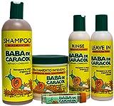 Baba de Caracol Regenerative Pack Hair Care Kit