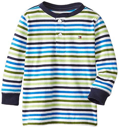 Tommy Hilfiger Little Boys' Striped Henley T-Shirt