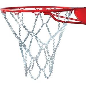 Buy Champro Basketball Net, Steel Chain (Silver, 21-Inch) by Champro