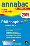 Annales Annabac 2015 Philosophie Tle...