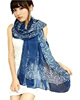 Women Girls Fashion Soft Scarf Wrap Chiffon Shawl Silk Scarves/Winter Knitted Cap/ Neckerchief