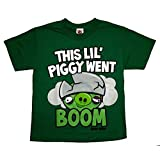 Angry Birds This Lil Piggy Youth T-shirt Size Youth Large
