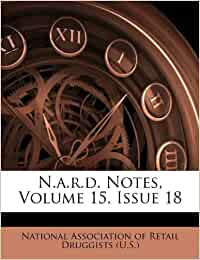 N A R D Notes Volume 15 Issue 18 Amazon Ca National