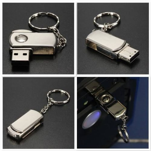 Gnc Unità di memoria flash USB 2.0 da 256 GB in argento inossidabile