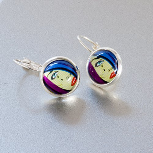 earring jewelry making craft kit pop art make your own