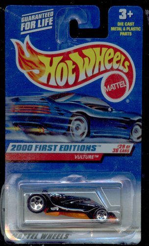 Hot Wheels 2000-089 First Edition 29/36 Vulture 1:64 Scale
