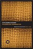 Philosophical Hermeneutics: 30th Anniversary Edition (0520256409) by Hans-Georg Gadamer