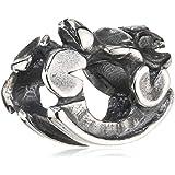 TrollBeads Damen-Bead Himmlicher Garten 925 Sterling Silber 11166