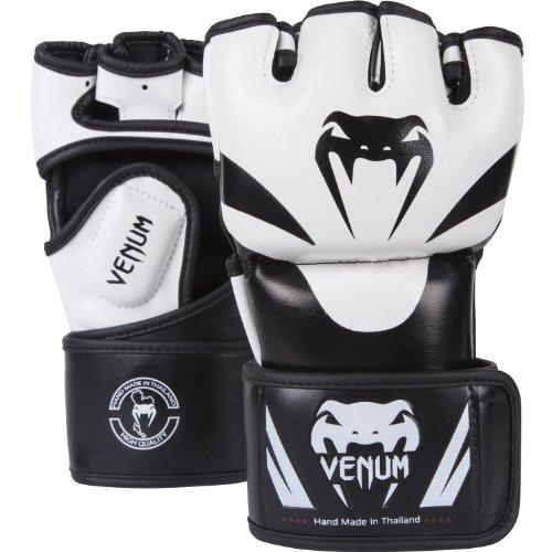 Venum Erwachsene MMA Handschuhe Attack, Black/Ice, L/XL, EU-0681