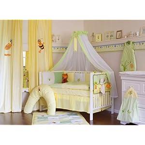 Lenilu - 16tlg. Baby Bettausstattung Bettset PATCHWORK, Sunny Day SCHADSTOFFFREI