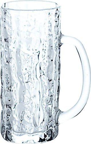 ビールジョッキ アイスクル コップ ガラス 445ml