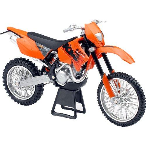New Ray KTM 2006 450EXC Enduro Motocross Replica Motorcycle Toy - Orange/Black / 1:12 Scale