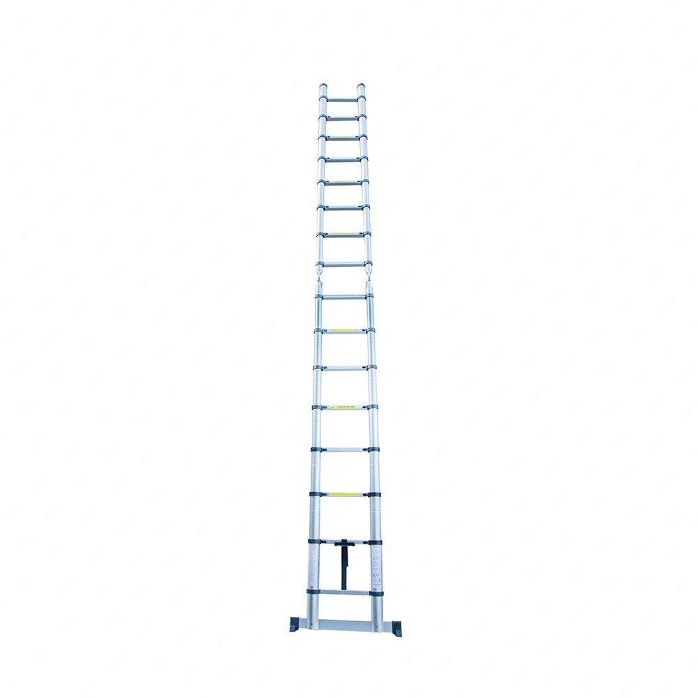 C.S.L16.5Ft Aluminum Multi Purpose Ladder Telescoping Telescopic Extension Folding