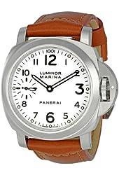 Panerai Men's PAM00113 Luminor Marina White Dial Watch