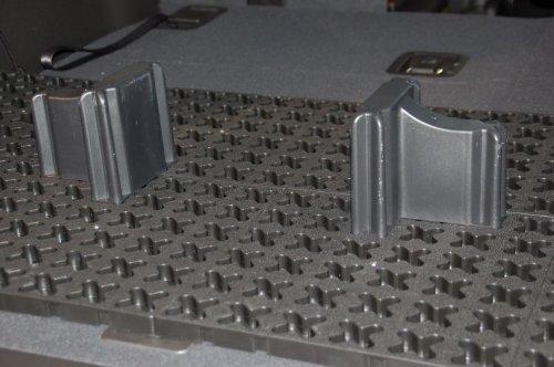 Tmat Liner SUV /Truck Cargo Management Kit - 4' x 6' Grey