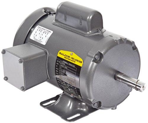 Baldor l3504m general purpose ac motor single phase 56 for Baldor permanent magnet motors