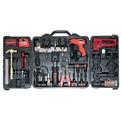 Great Neck TK128 Home and Hobby Tool Set, 128-Piece