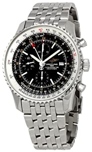 Breitling Men's BTA2432212-B726SS Navitimer World Chronograph Watch from BRIT ARCH OF COUNTRY
