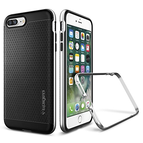 iPhone-7-Plus-Case-Spigen-Neo-Hybrid-PREMIUM-BUMPER-Satin-Silver-Bumper-Style-Premium-Case-Slim-Fit-Dual-Layer-Protective-Cover-for-Apple-iPhone-7-Plus-2016-043CS20537
