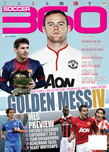 Soccer Three Sixty Magazine