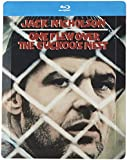 One Flew Over The Cuckoo's Nest - Steelbook (Exclusive to Amazon.co.uk) [Blu-ray] [1975] [Region Free]