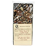 Moonstruck Dark Chocolate Praline Pecan and Ginger Bark Bar